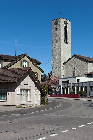 Festtagsgottesdienst Patrozinium katholisch Kirche Flawil